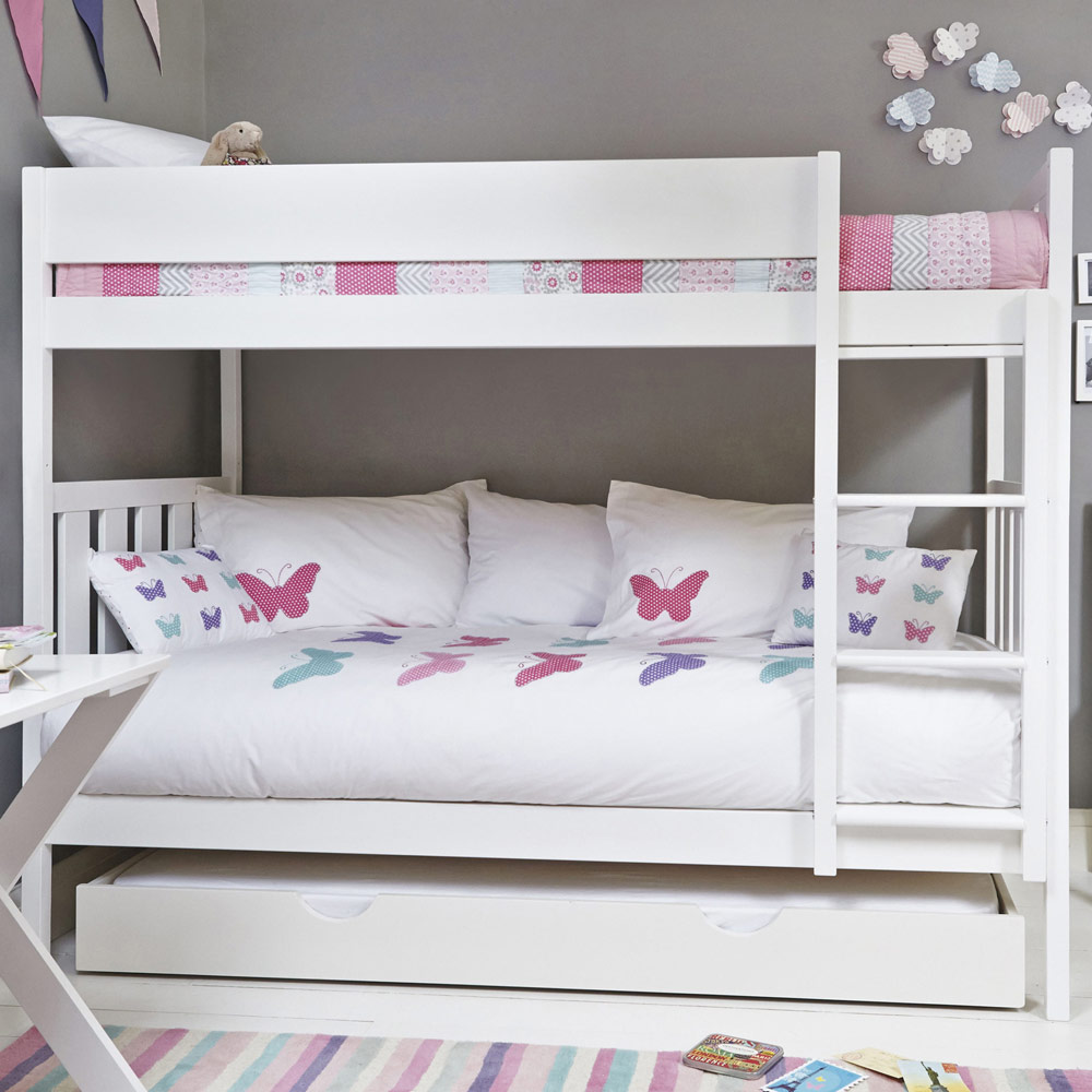 Image of: Girls Futon Couch Bunk Bed