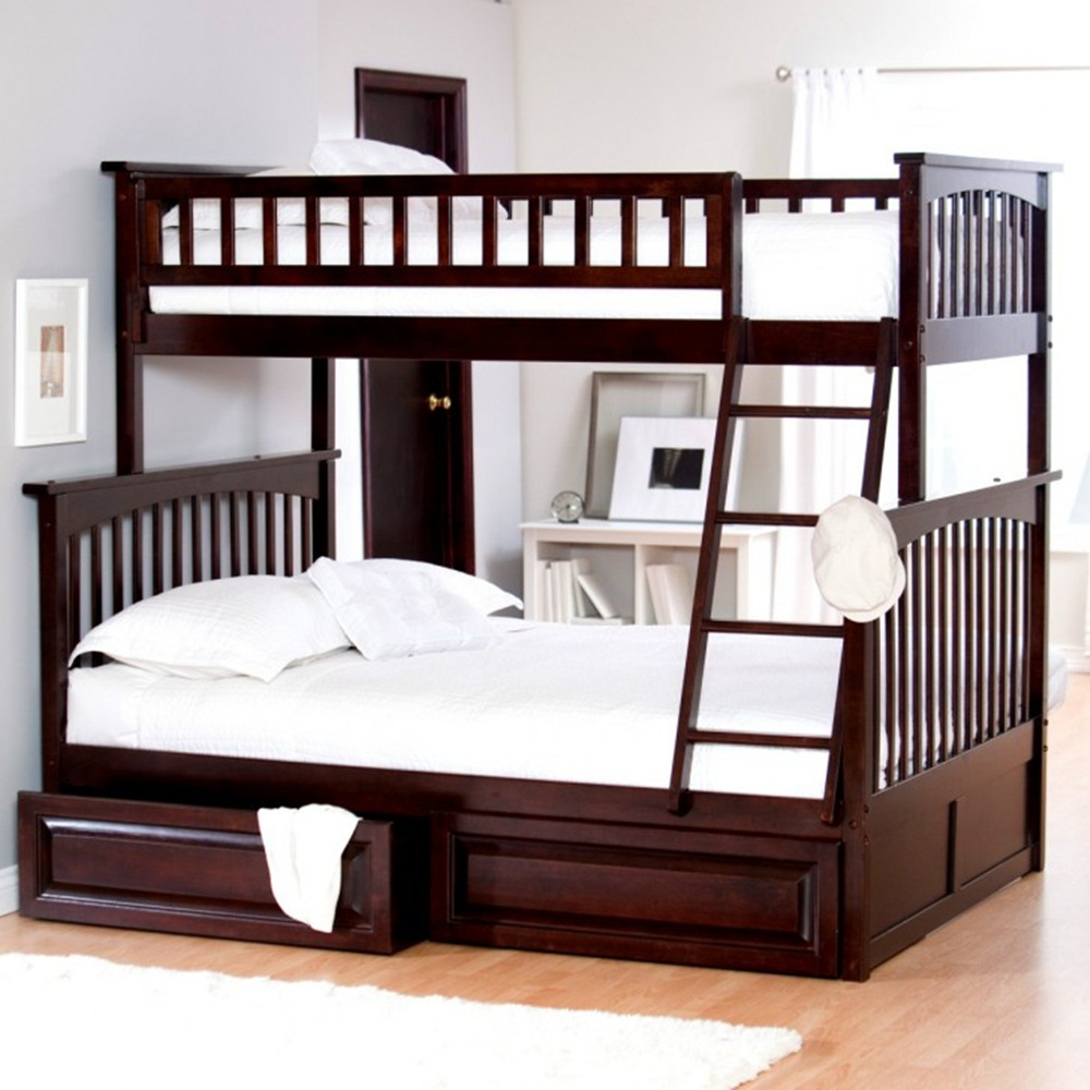 Image of: Idaes Bunk Beds Twin Over Full