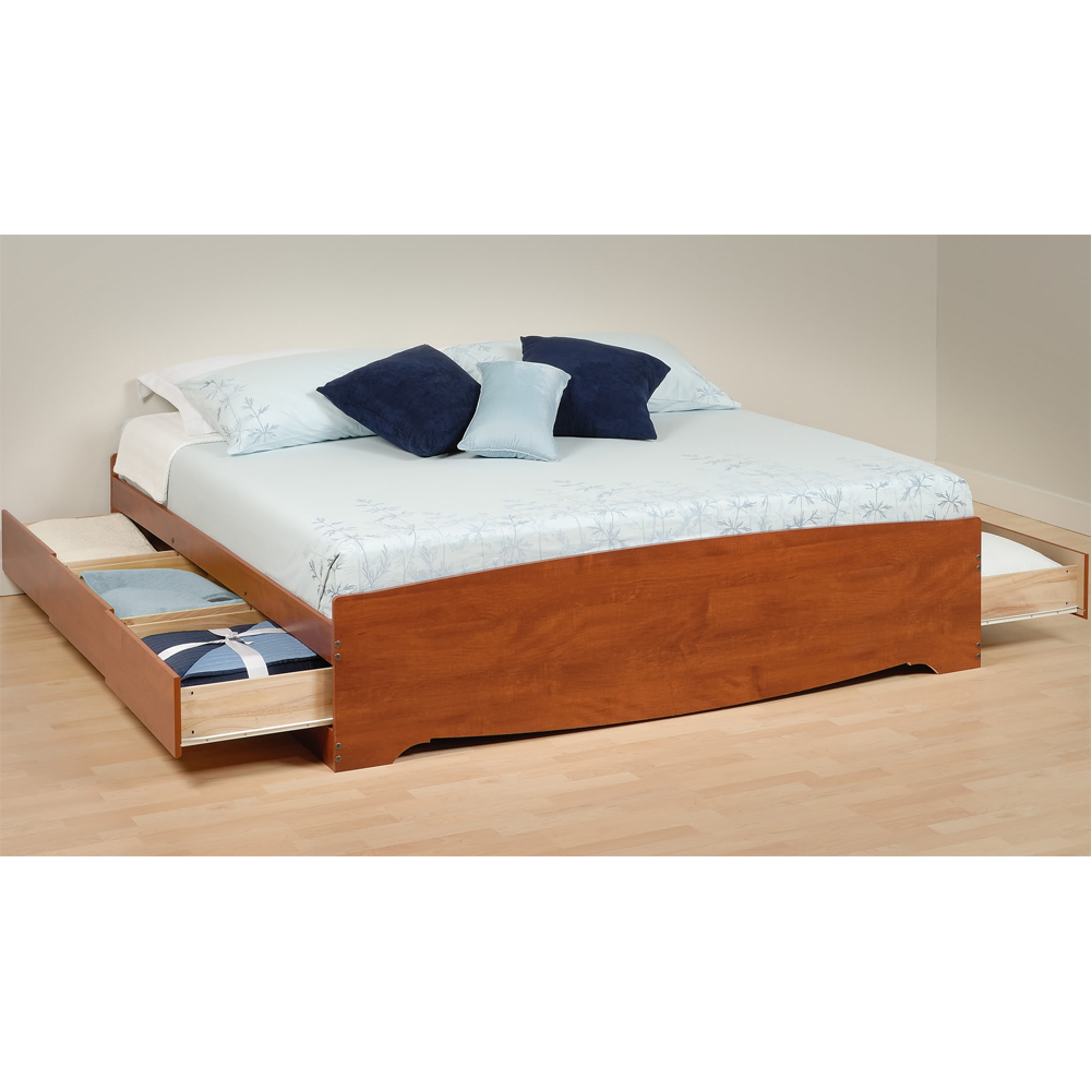 Image of: King Size Storage Bed Ideas