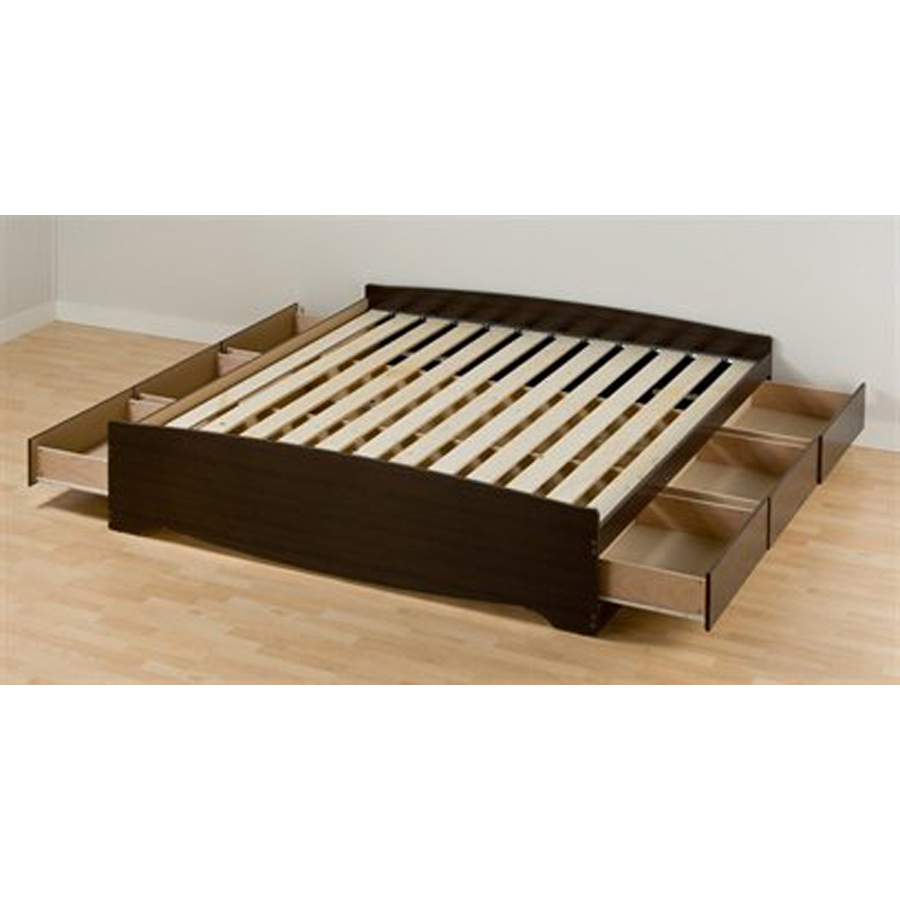 Image of: King Storage Bed Style