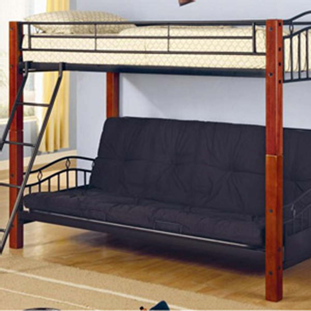Image of: Large Futon Couch Bunk Bed