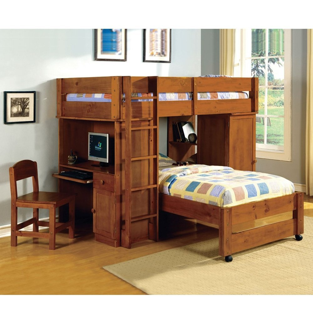Image of: Large Queen Size Bunk Beds