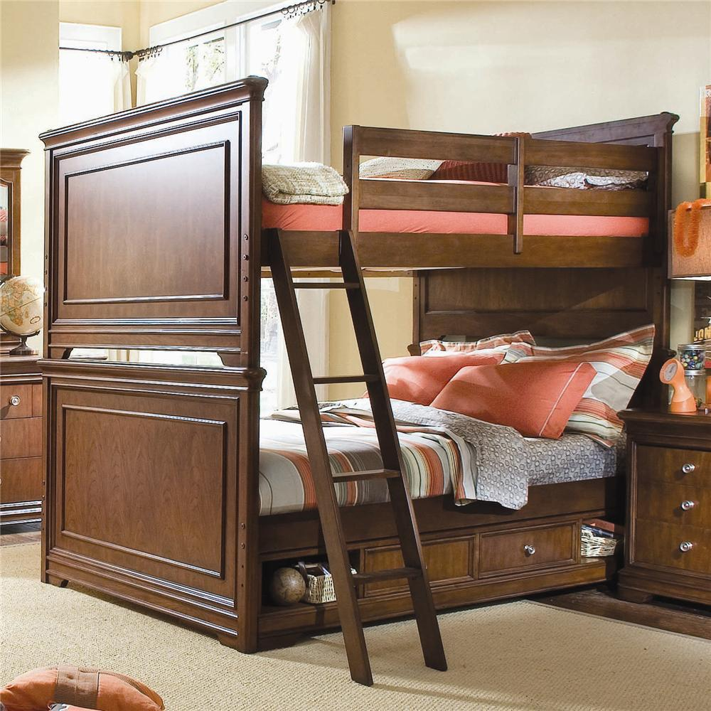 Image of: Luxury Bunk Bed with Desk and Couch