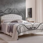 Metal Queen Bed Frame With Wrought Iron