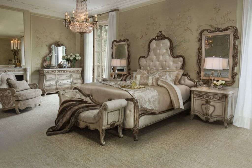 Image of: Michael Amini Bedroom Furniture at Sears