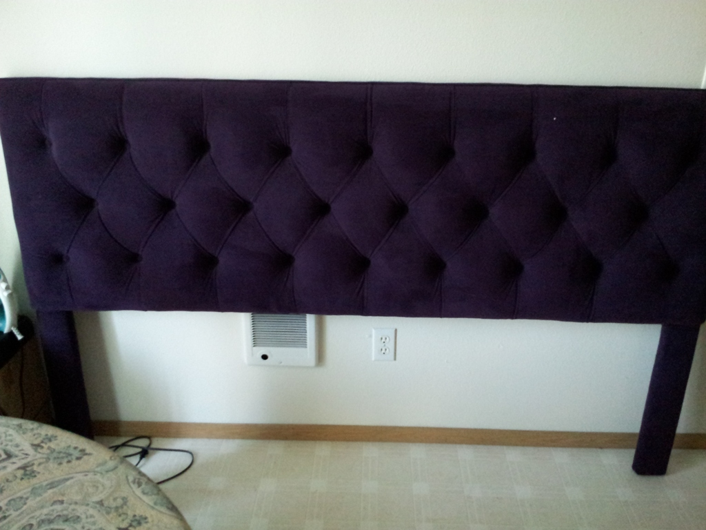 Image of: Padded Headboards and Frame