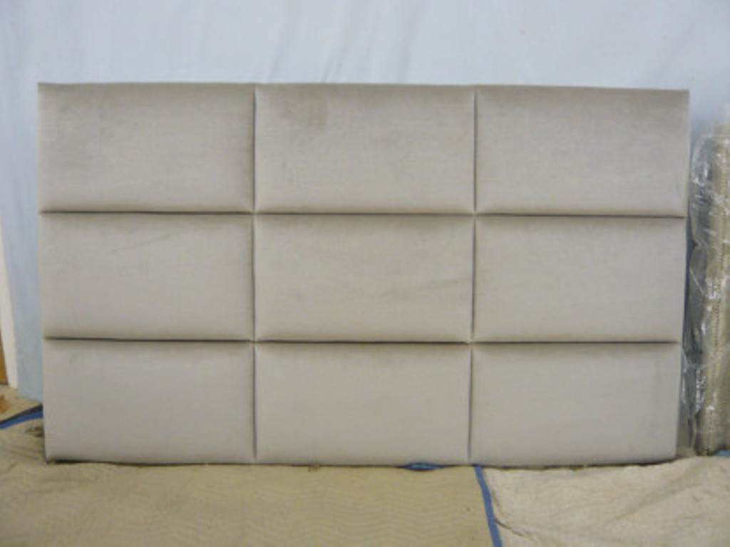 Image of: Padded Headboards for King Size Beds