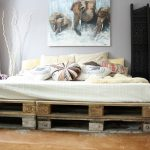 Pallet Furniture Bed Diy