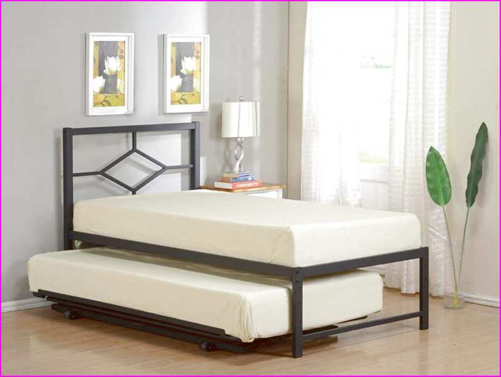 Image of: Plans for Twin Bed Frame with Storage