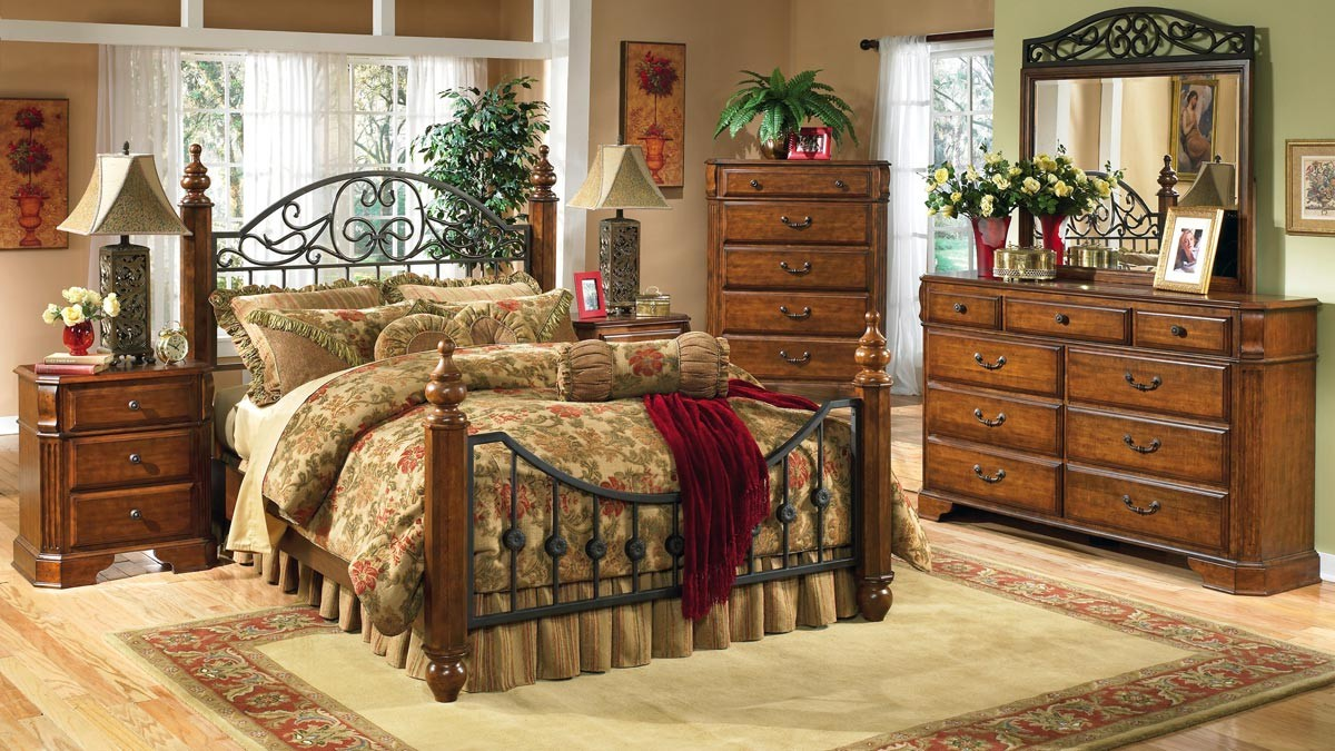 Image of: Queen Bed Frame Ashley Furniture