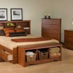 Queen Platform Bed with Storage Sets