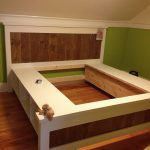 Small King Size Storage Bed