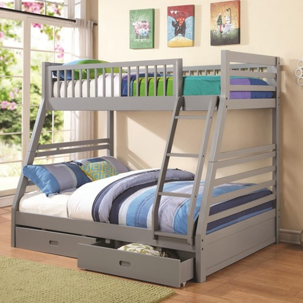 Image of: Standart Bunk Beds Twin Over Full