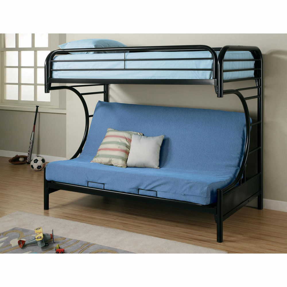 Image of: Style Futon Couch Bunk Bed