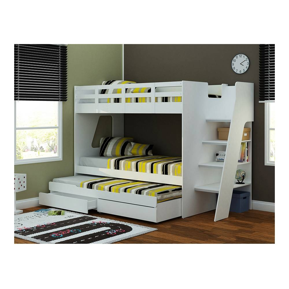 Image of: Triple Couch to Bunk Bed