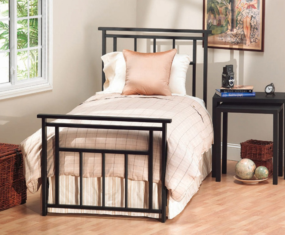Image of: Twin Bed Frame with Storage Plans