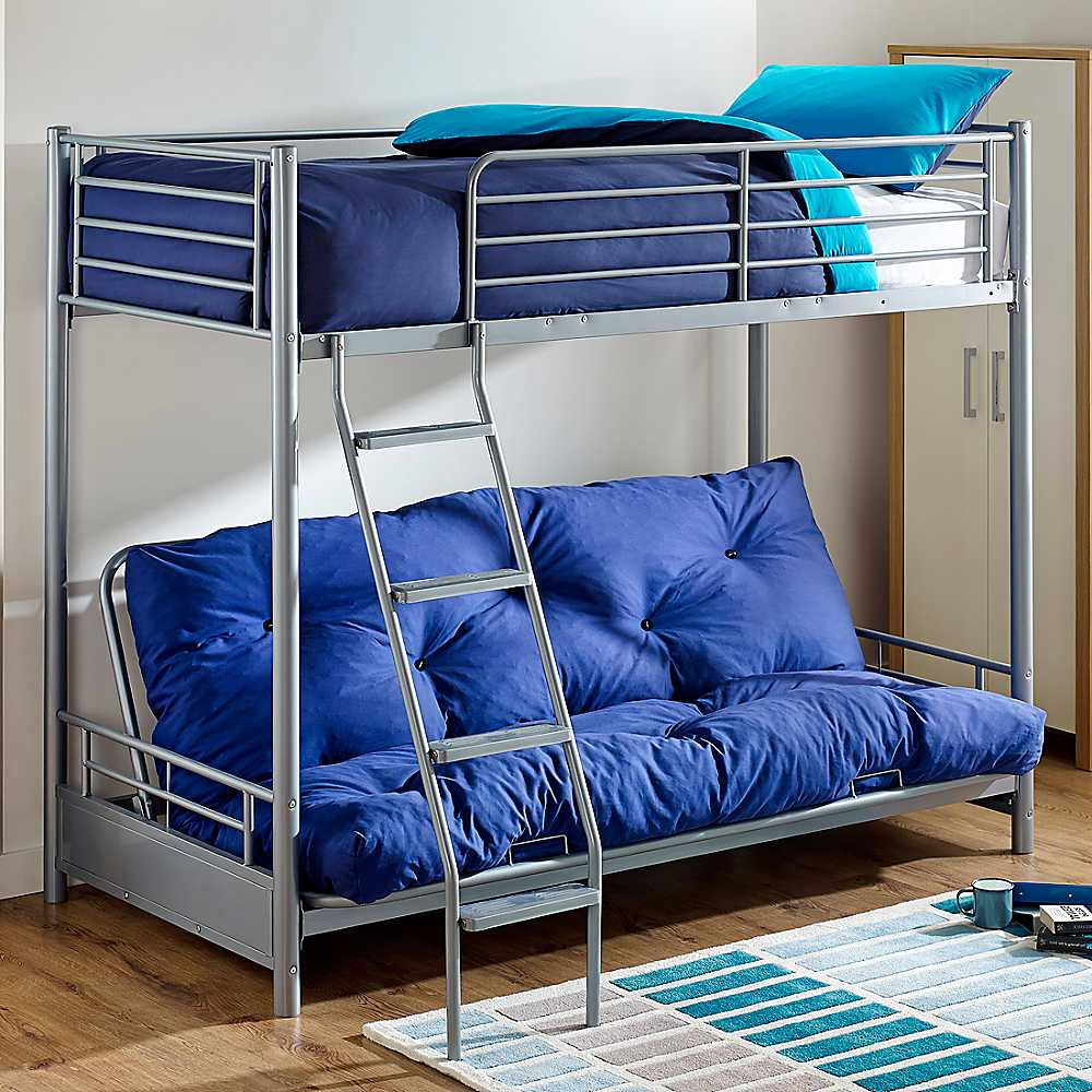 Image of: Twin Futon Couch Bunk Bed