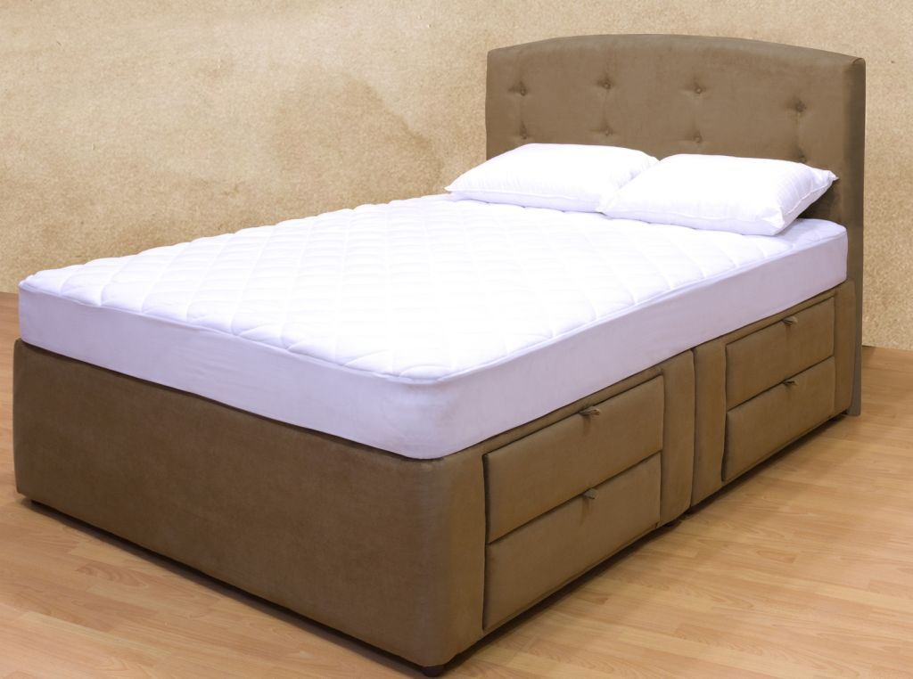 Image of: Twin Platform Bed with Storage Model