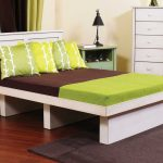 Twin Platform Bed with Storage Style