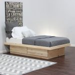 Twin Platform Bed with Storage for Boy
