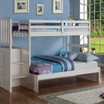 White Bunk Bed Twin Over Full