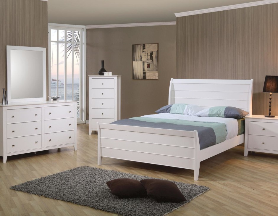 White  Coaster Furniture Bedroom Sets