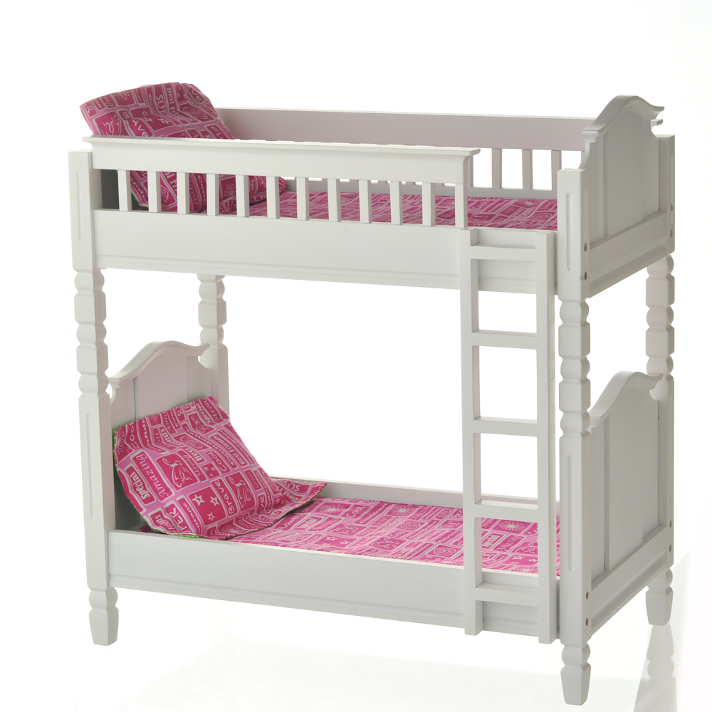 Image of: White Couch to Bunk Bed