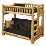 Wood Futon Couch Bunk Bed