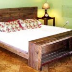 Wooden Pallet Bed Frame Anti Theft Device