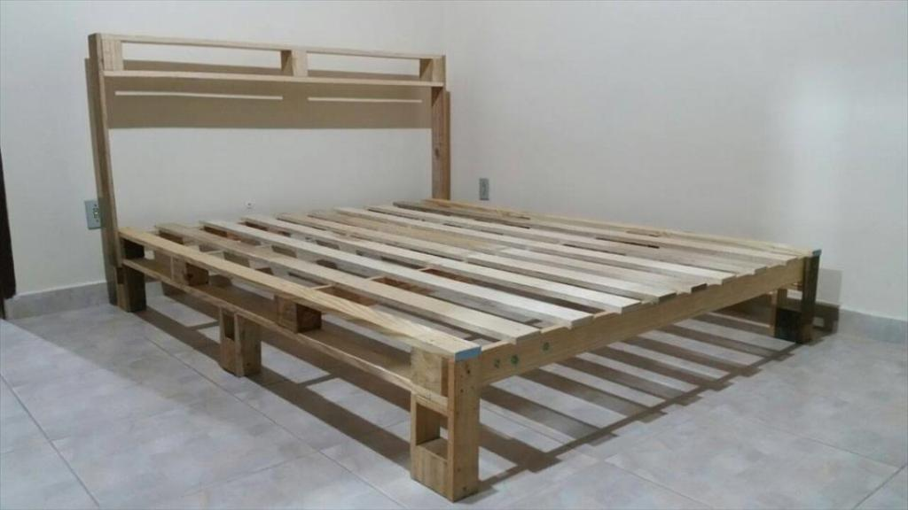 Wooden Pallet Bed Frame Coffee Tables