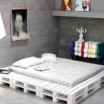 Wooden Pallet Bed Frame Plant Stand