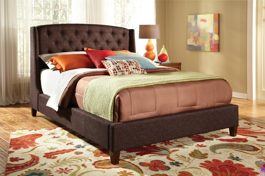 Image of: 2018 Upholstered Beds King
