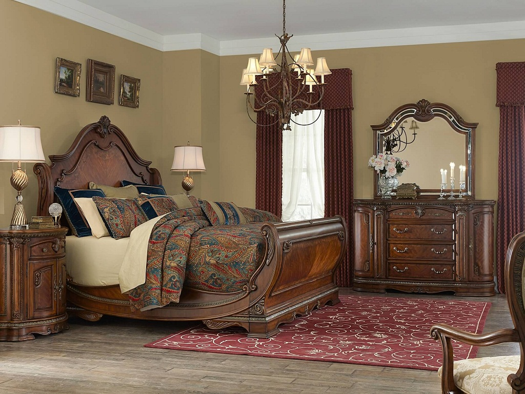 Image of: AICO Bedroom Furniture Sets
