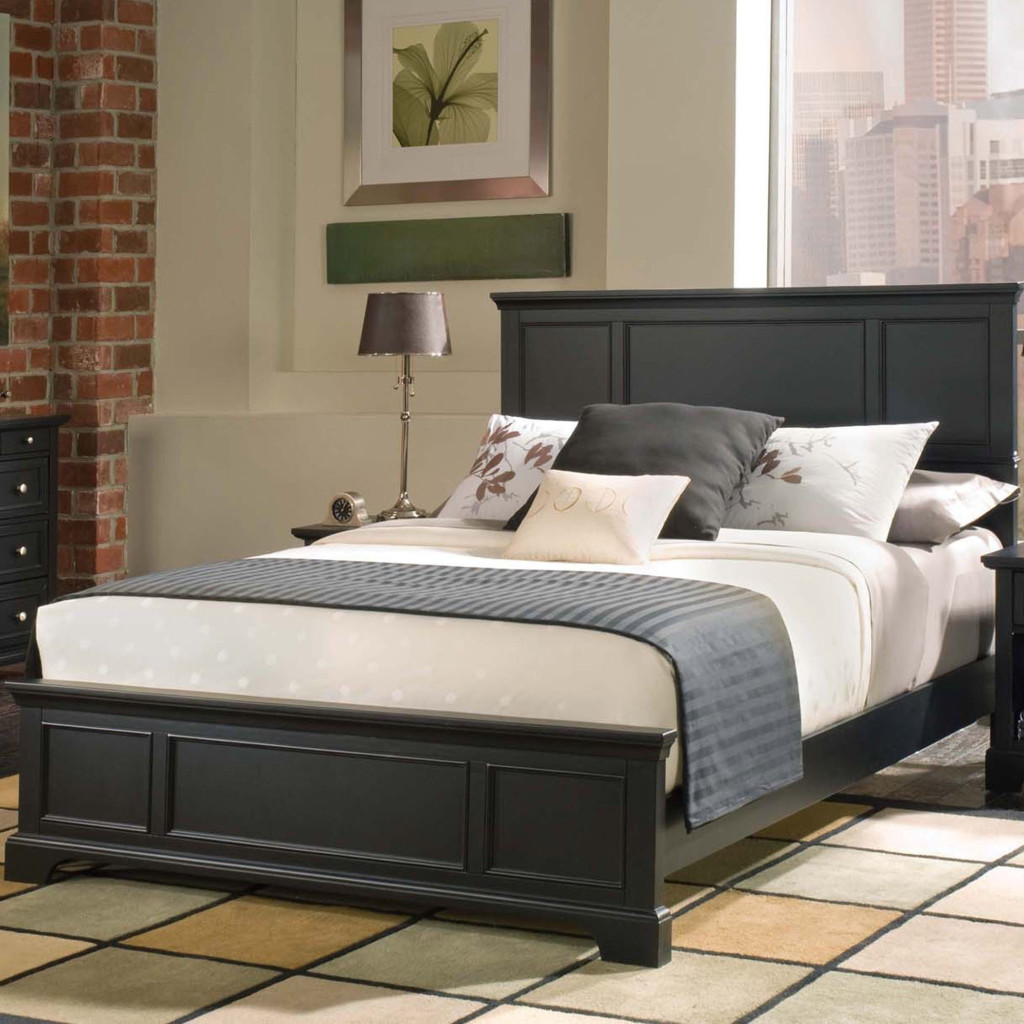 Amazing King Size Bed Frame with Headboard