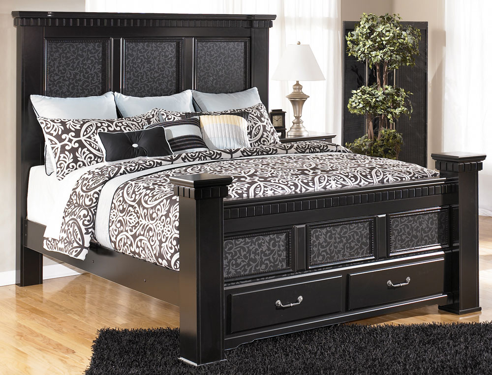 Image of: Awesome Ashley Furniture King Size Beds