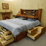 Awesome King Size Bed with Drawers