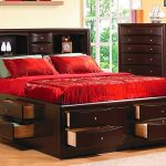 Awesome King Size Bed with Drawers Design