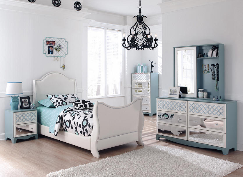 Image of: Awesome Twin Sleigh Bed