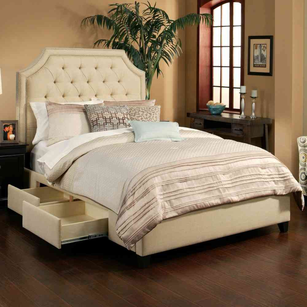 Image of: Beauty Twin Beds With Drawers