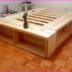 Bed Frame With Drawers Full