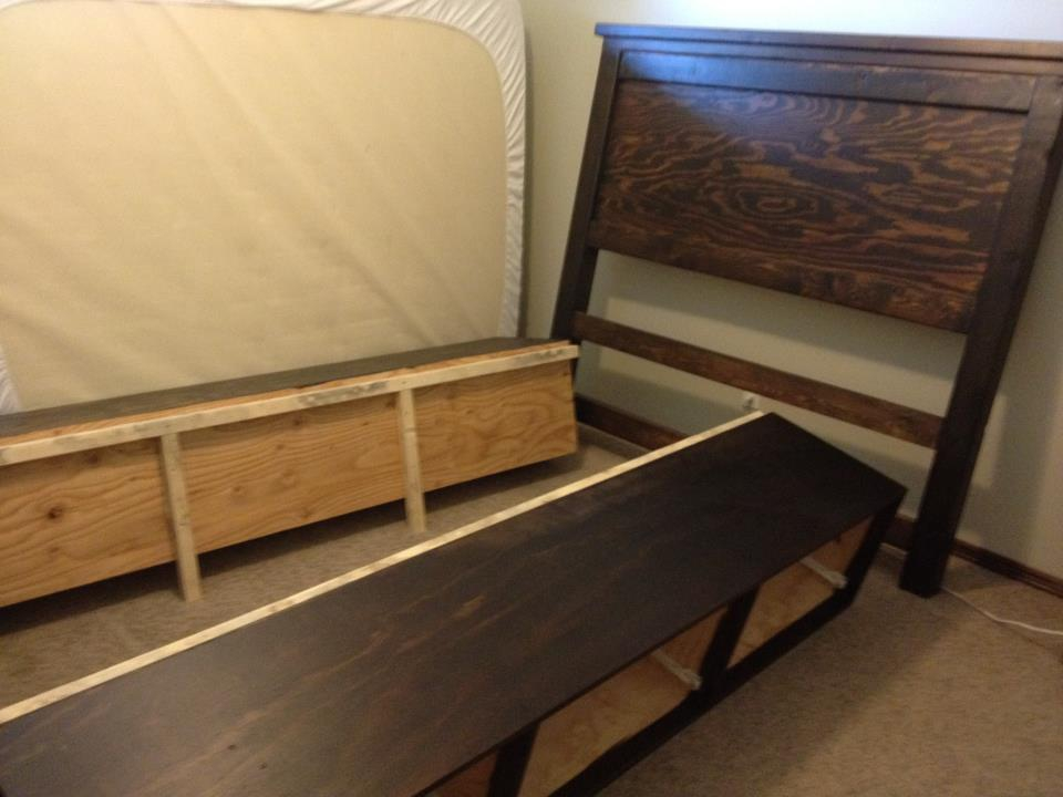 Image of: The Storage Bed Frame With Drawers