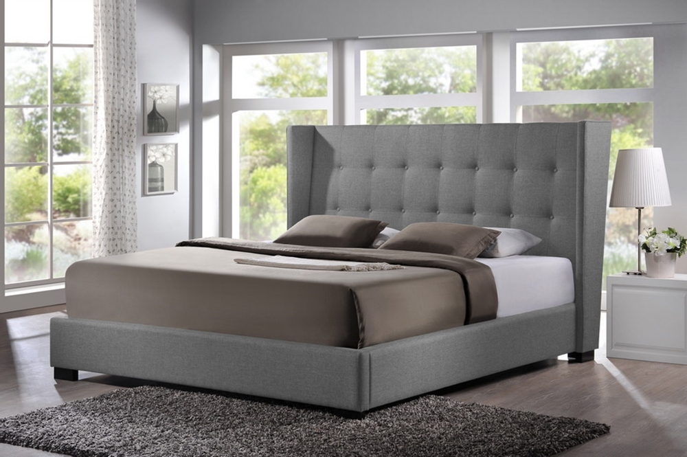 Best King Size Upholstered Bed