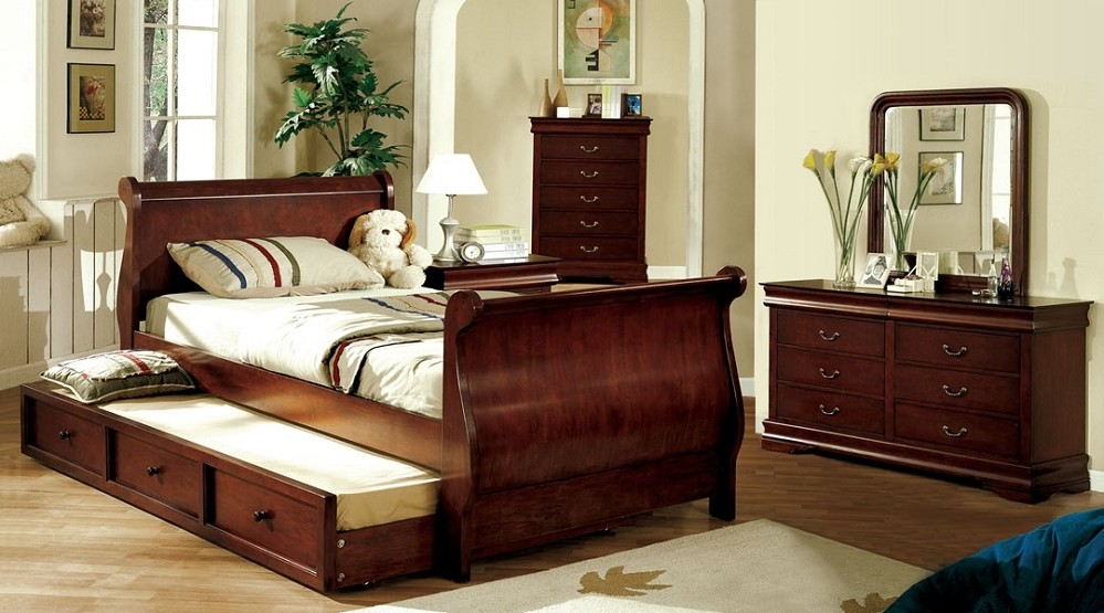 Image of: Best Twin Sleigh Bed