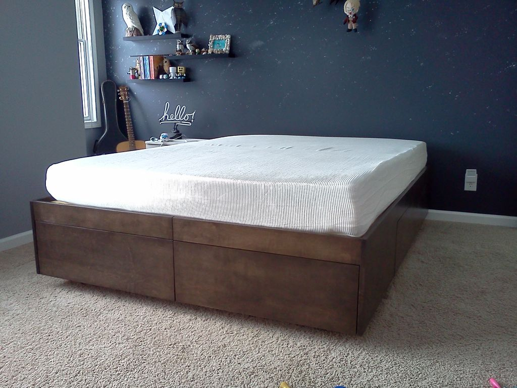 Best Twin Bed Frame With Drawers