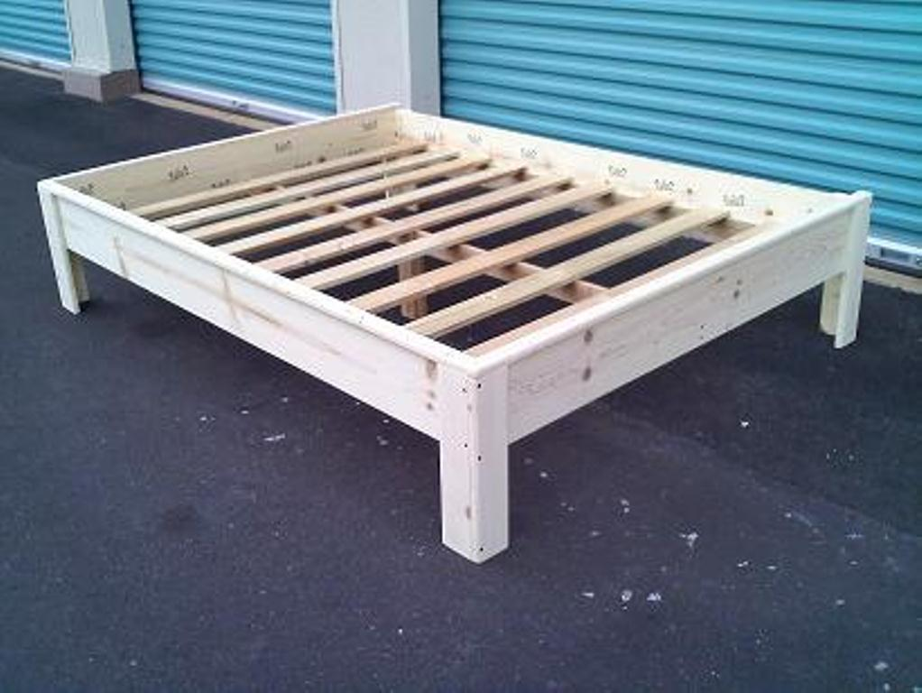 Build Twin XL Platform Bed