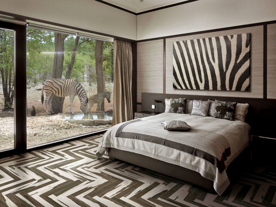 Image of: fascinating cheetah print bedroom ideas gallery