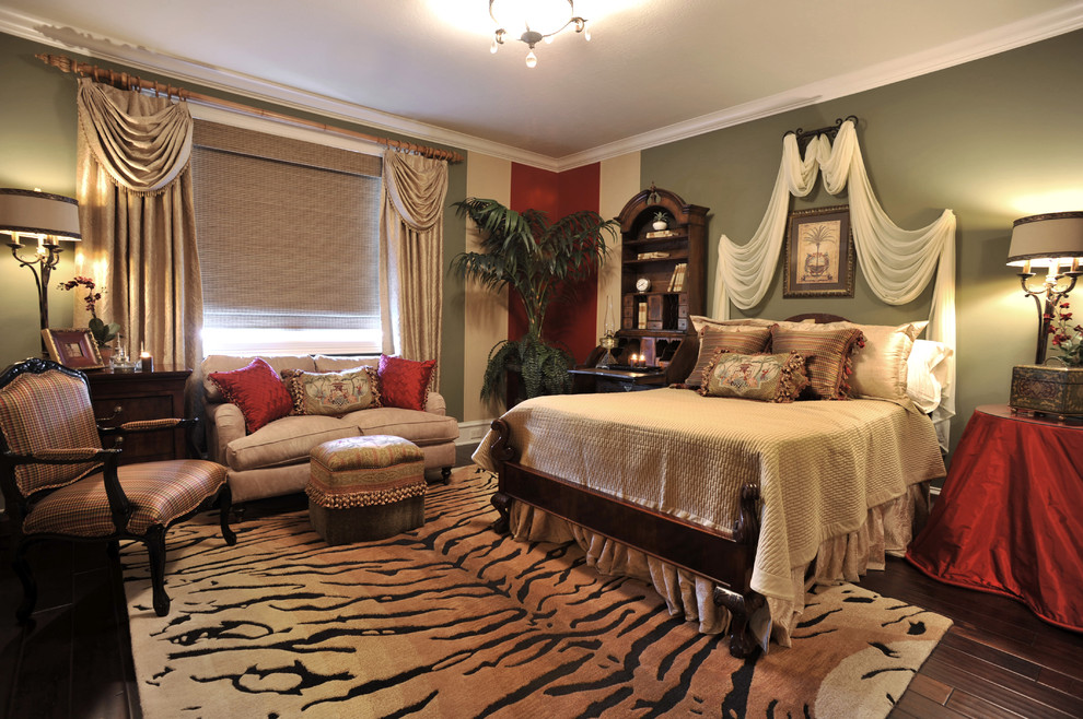 Image of: Cheetah Bedroom Ideas