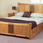 Classic King Size Bed with Drawers