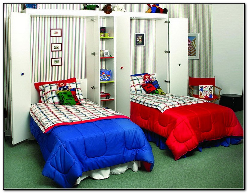 Image of: Cool Twin Size Murphy Bed