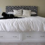 Diy King Bed Frame With Drawers